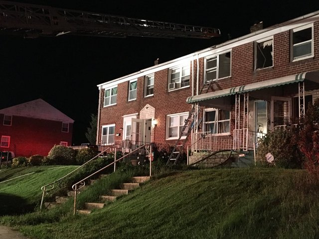 House fire leads to human remains