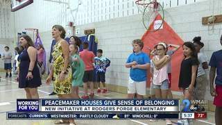 Peacemaker Houses gives sense of belonging