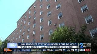 Mold issue displaces hundreds of students at UMD