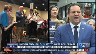 Governor Hogan and Jealous to face off in debate
