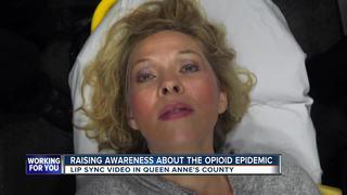Lip sync video aims to raise opioids awareness