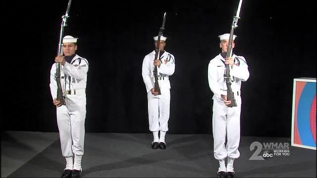 Us Navy Ceremonial Guard Wmar2news - Us-navy-ceremonial-guard
