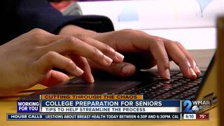 Helping seniors through college prep process