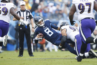 Ravens sack Titans 11 times, beat Tennessee 21-0
