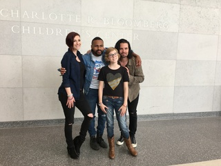 Johns Hopkins patient stars in music video