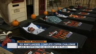 6 Marylanders complete 30-hour coffin challenge