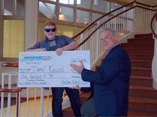 Boy Scout wins $500 credit union photo contest
