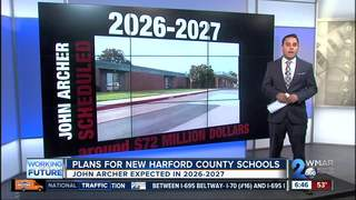 Plans for new schools in Harford County
