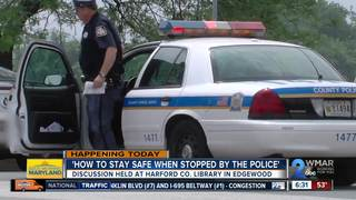 Organization hosts police stop safety discussion