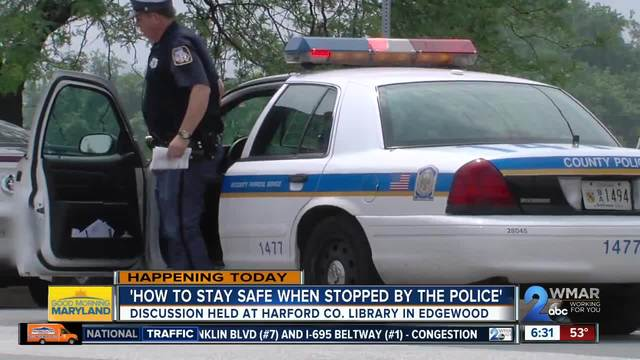 Together We Will' hosts police stop safety discussion