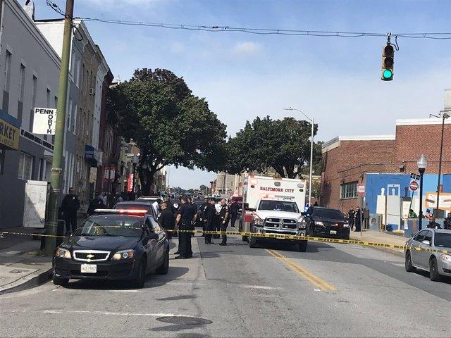Violent shootings plague Baltimore City