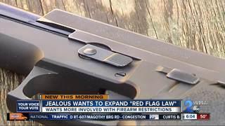 Ben Jealous says he'd broaden gun control law