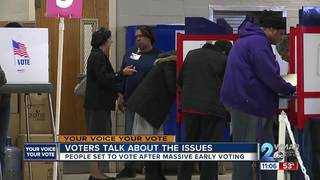 Voters talk issues ahead of mid-term election