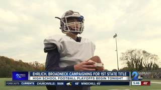 Ehrlich, Broadneck enter playoffs undefeated