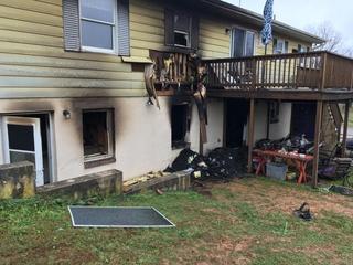 House fire in Finksburg leaves one dead