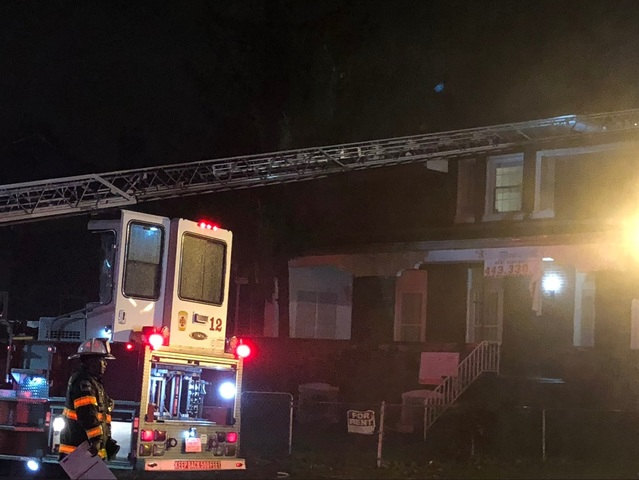 One person injured in NW Baltimore house fire
