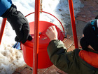 Salvation Army Red Kettle stolen from city Giant
