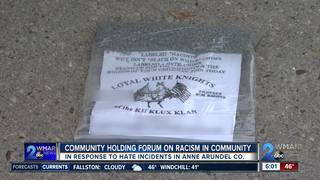Forum to address hate/bias incidents in AACO