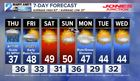 7-DAY FORECAST: First Taste Of Wintry Weather