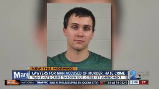 Murder suspect wants hate crime charges dropped
