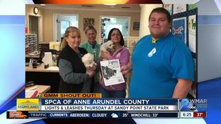 Good morning from the SPCA of Anne Arundel Co.!