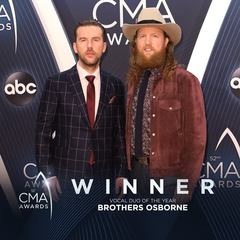 Brothers Osborne wins at CMA Awards for 3rd time