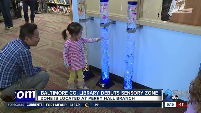 Sensory Exploration Zone debuts at local library