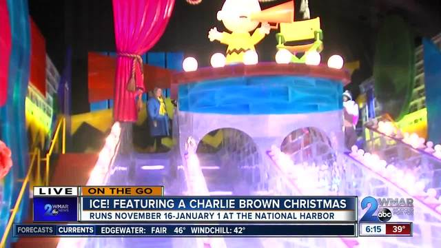 On the Go- ICE- Featuring a Charlie Brown Christmas