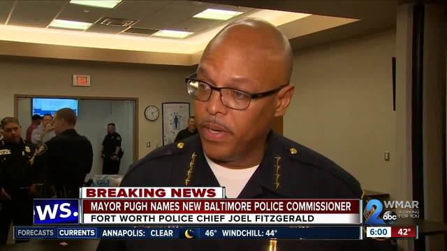 Fort Worth Texas Police Chief named new Baltimore Police Commissioner by…