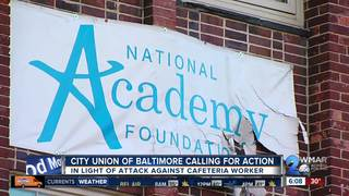 Another Baltimore school staffer is assaulted
